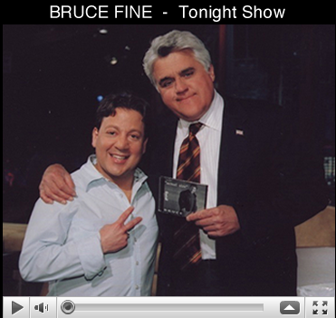 Bruce Fine on the Tonight Show with Jay Leno